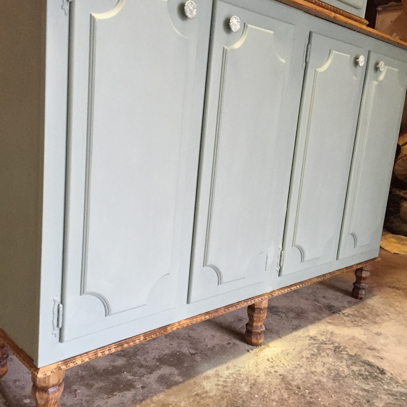 repurposed furniture with Annie Sloan Chalk Paint