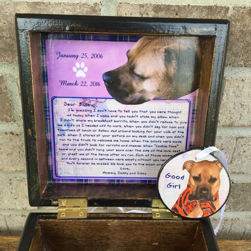 Personalized Photo Pet Urn