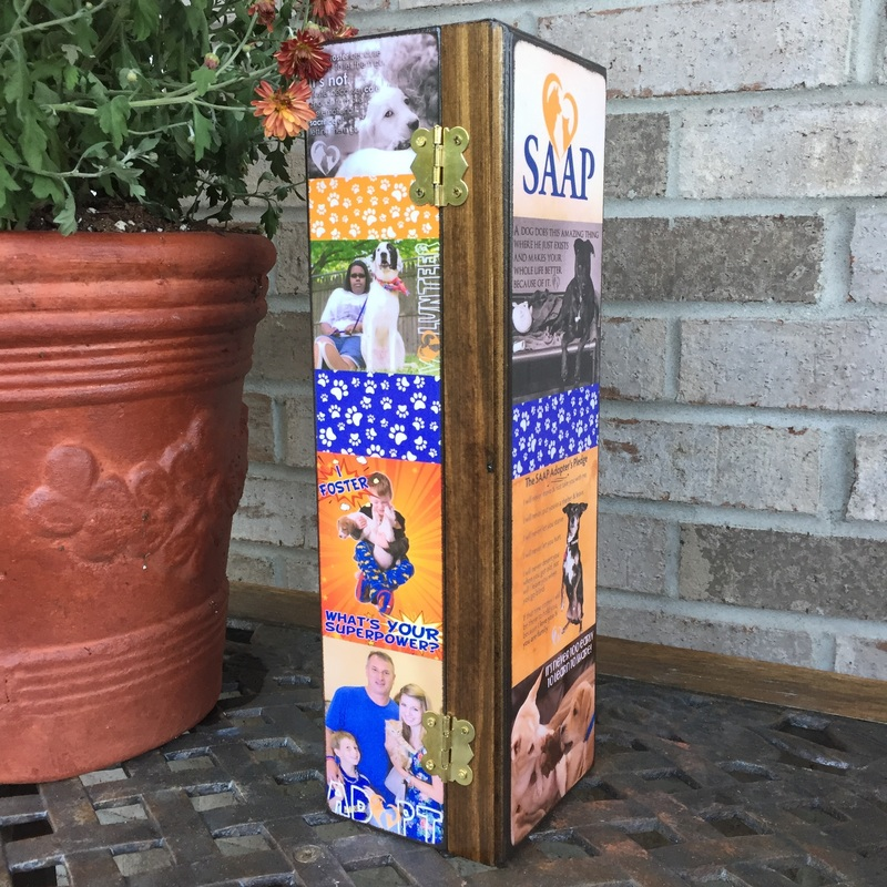 Non Profit Business personalized Wine Box