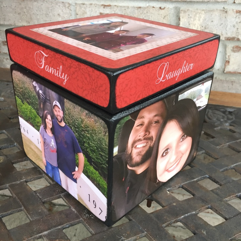 Keepsake Box with your photo's