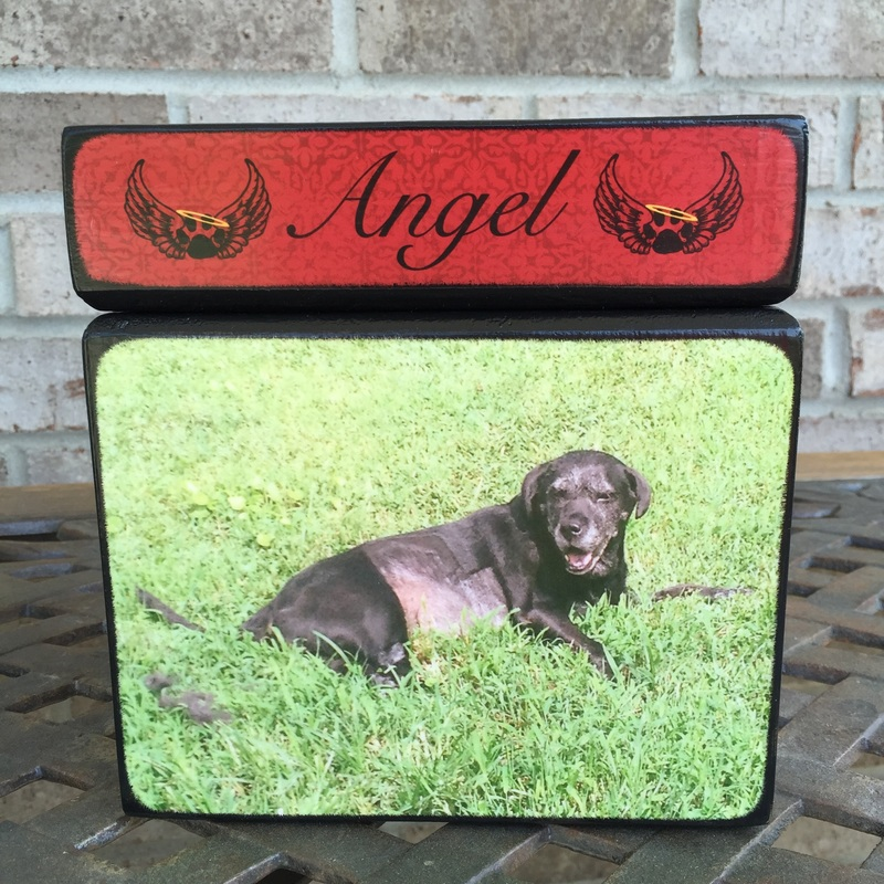 Memorial Keepsake Box for Pets