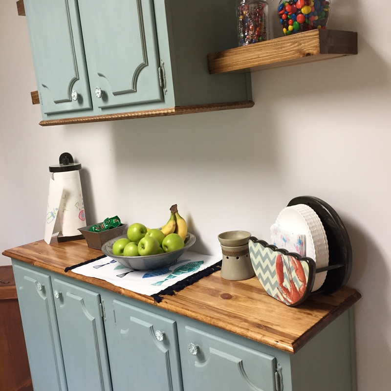 Refinish kitchen cabinets on a budget