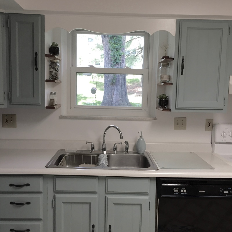 refinish kitchen cabinets with no sanding