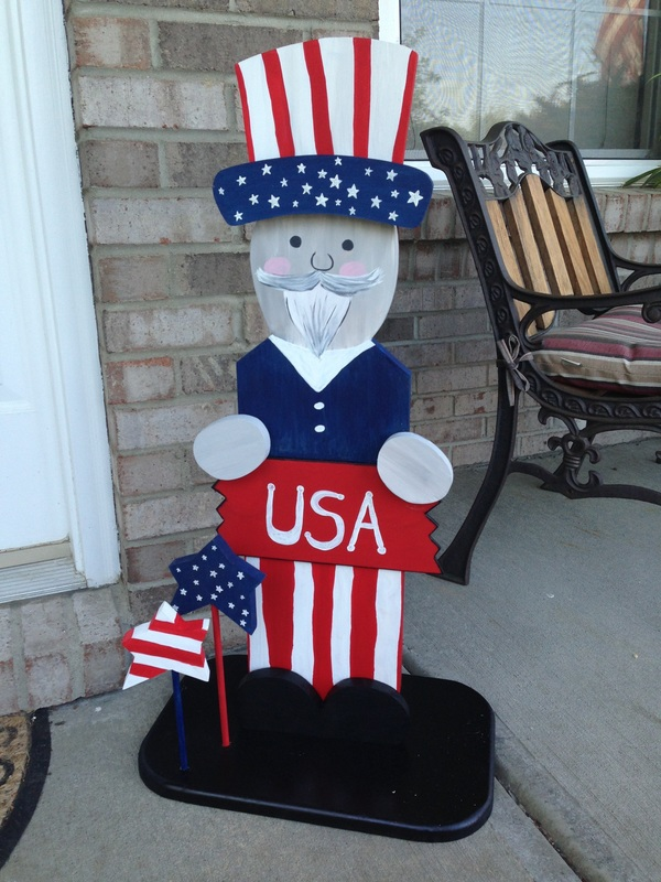 4th of July Uncle Sam Standee
