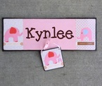 Personalized Name Board for babies room