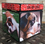personalized dog urn