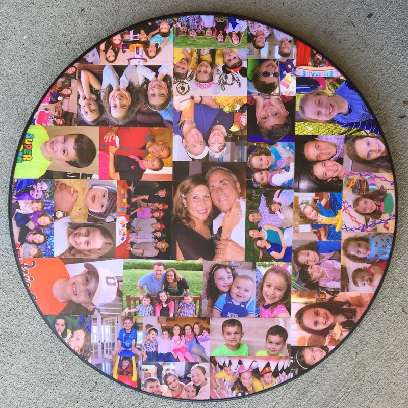 Lazy Susan personalized with your photo's