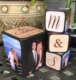 Wedding Gift Blocks by Blocks From The Heart