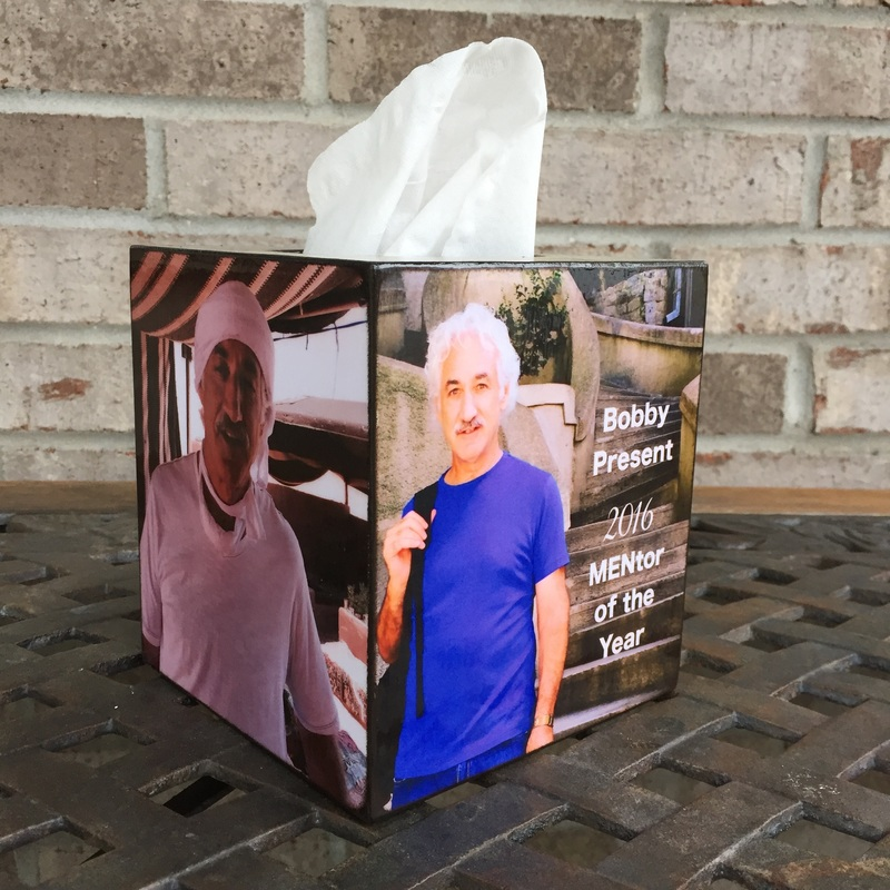 Mentor Gift Tissue Box Cover