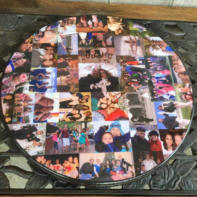 Lazy Susan personalized with photo's