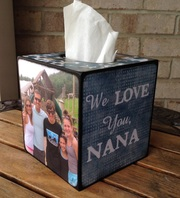 Tissue Box wood cover