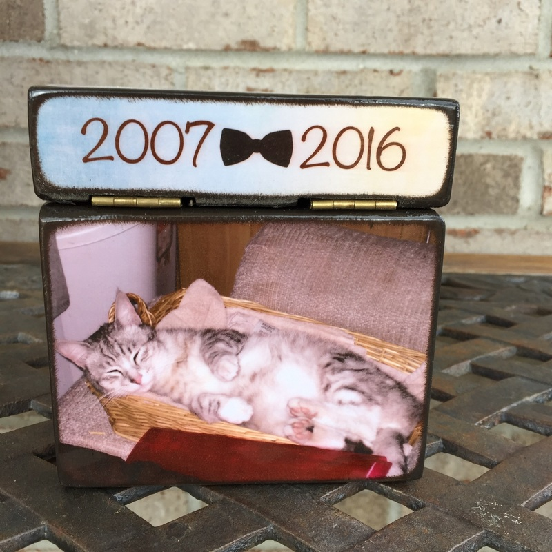 cat urn for ashes