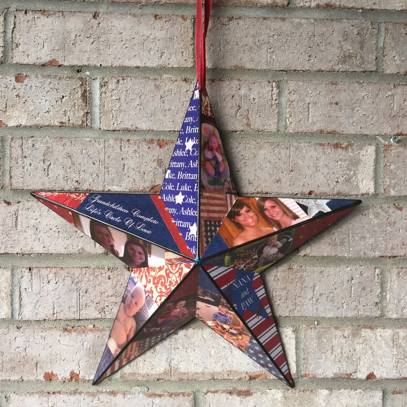 American personalized star