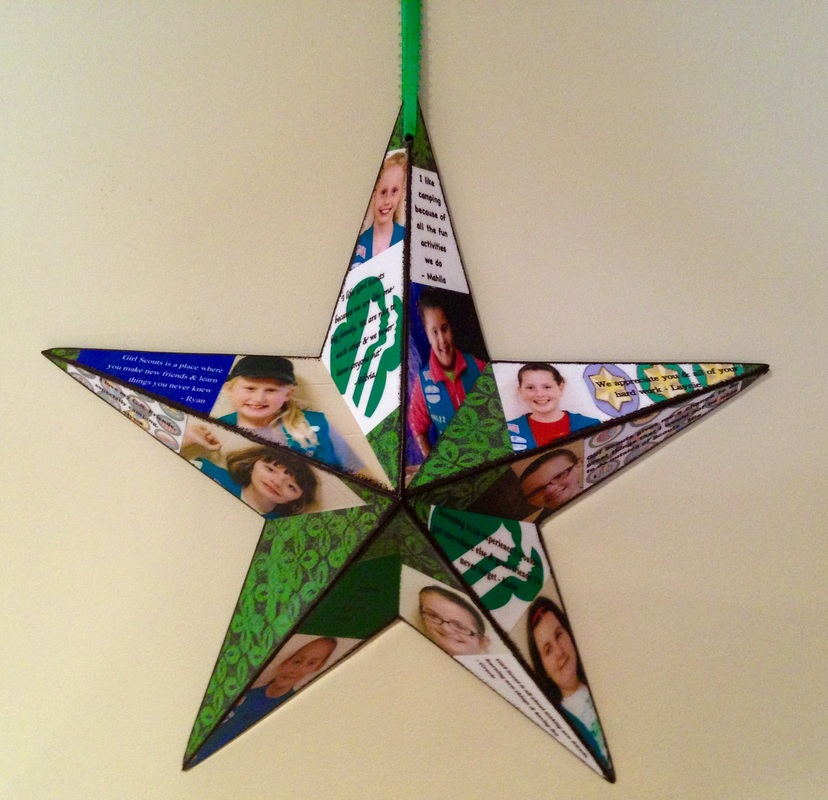 Barn Star personalized for Girl Scout leader