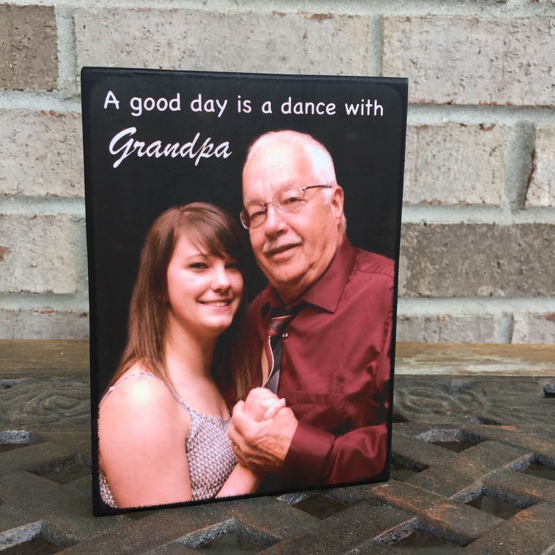 Personalied Gift For Grandpa photo Board