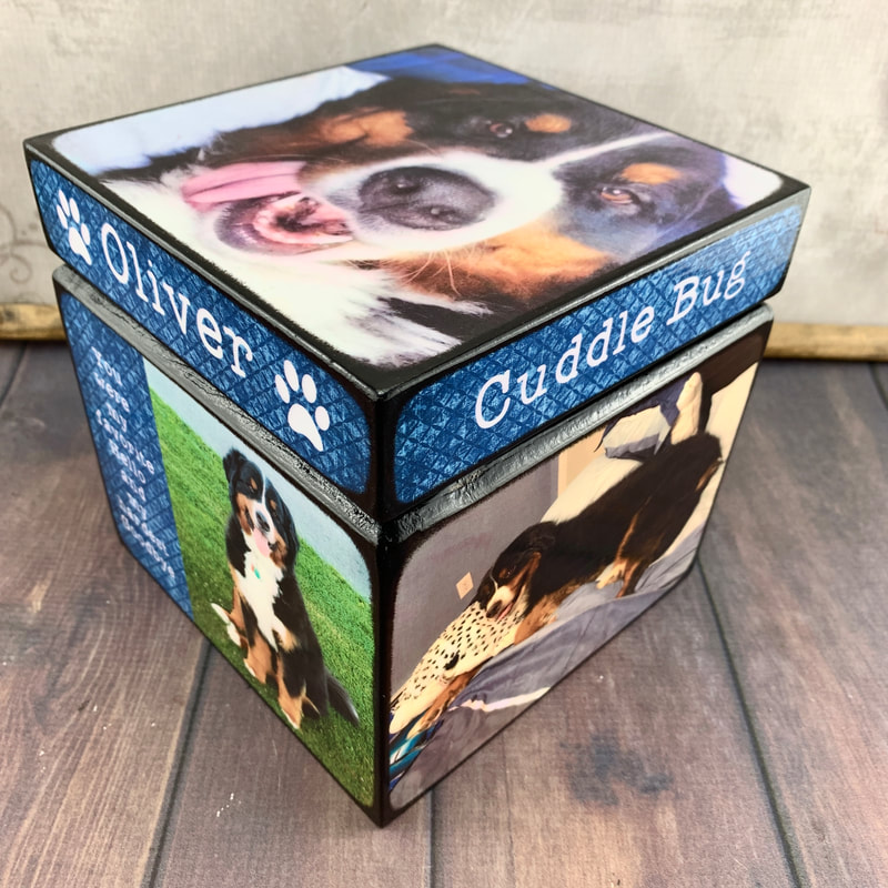 pet Urn picture frame