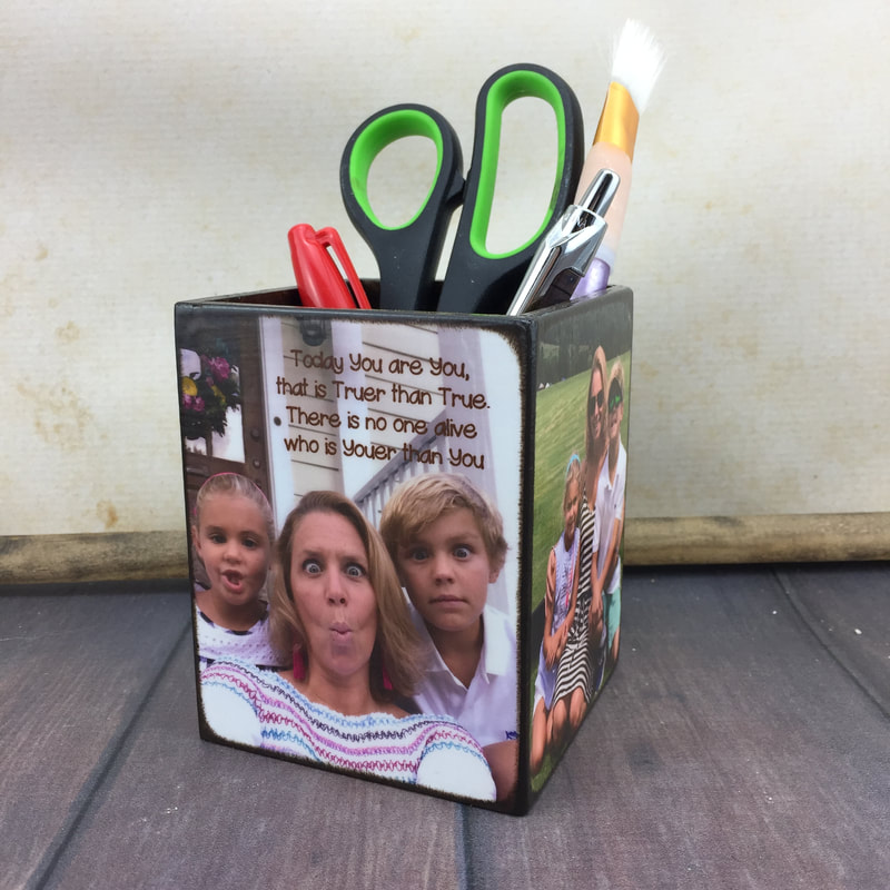 Personalized Pencil Holder for desk