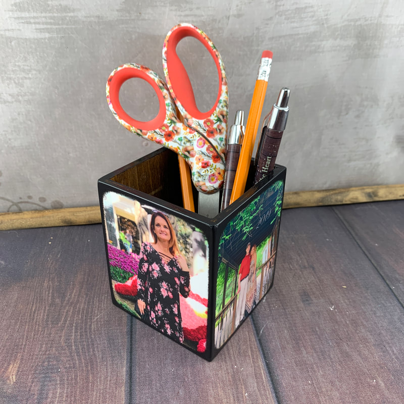 Personalized Gift for a friend Pencil Holder